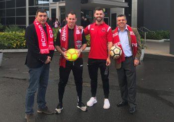 CDN supports football's premier club in NSW through sponsorship